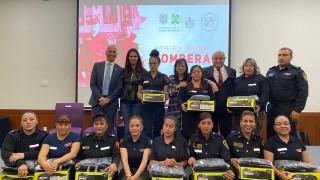 Mujeres del Heroico Cuerpo de Bomberos Recibirán por primera vez Equipo Táctico a su medida
